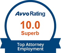 Avvo Top Attorney | Employment | 10.0 Superb